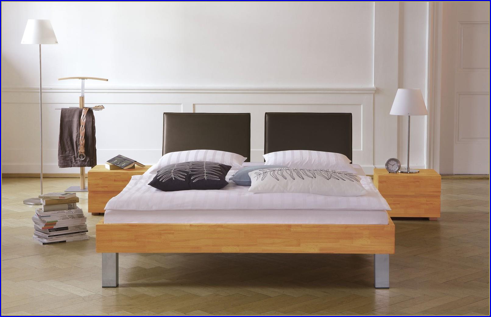 Bett 140×200 Buche Natur