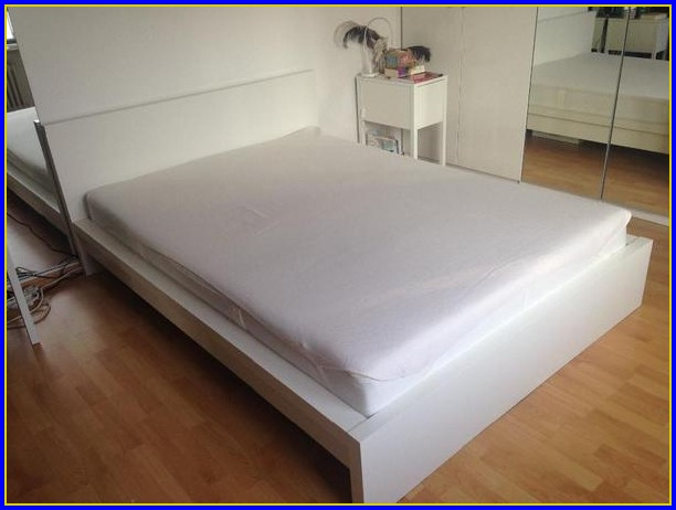 Bett 140×200 Mit Matratze Und Lattenrost Weiß
