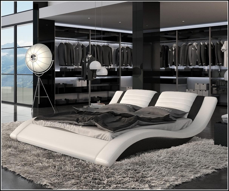 Bett 140×200 Schwarz Gebraucht