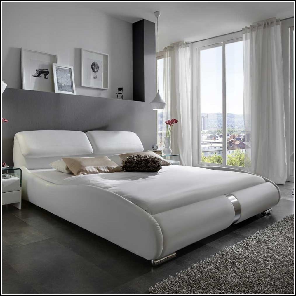 Bett 160x200 Weiß Gebraucht