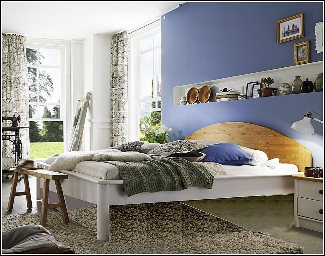 Bett 180×200 Weiß Hochglanz