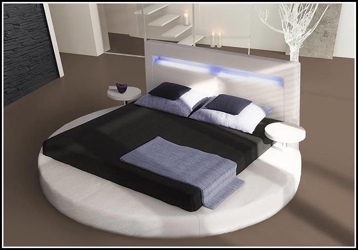 Bett 180×200 Weiß Metall