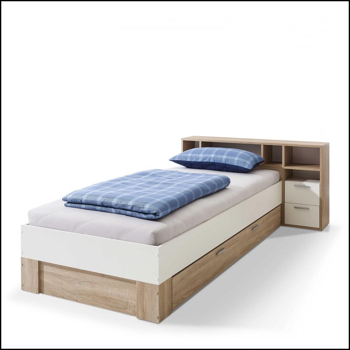 Bett 90×200 Kunstleder