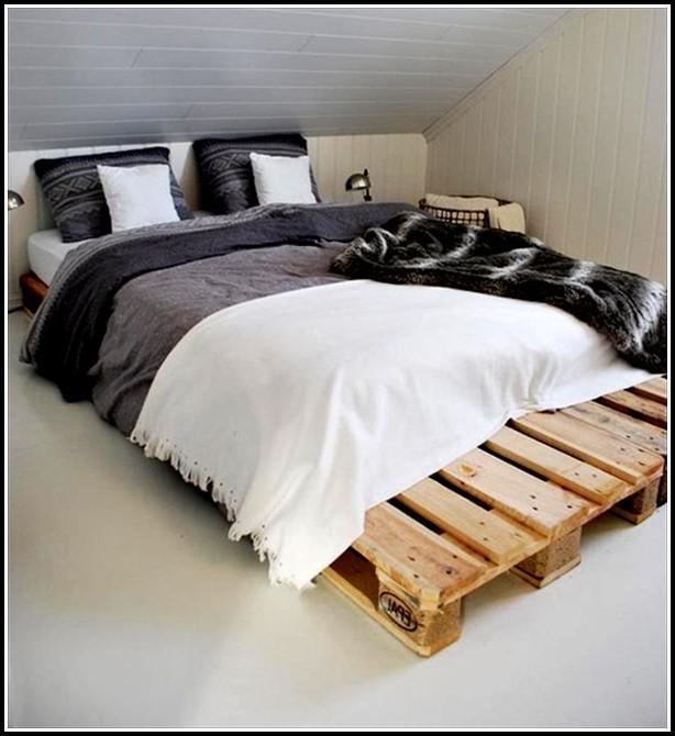 Bett Aus Paletten Bauanleitung