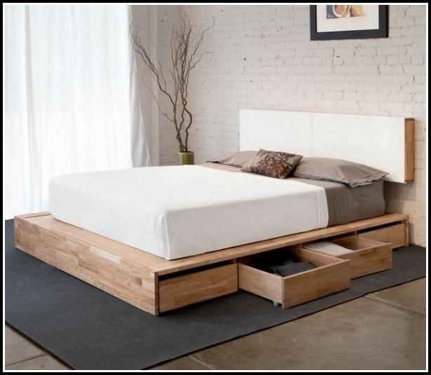 Bett Aus Paletten Bauen Anleitung