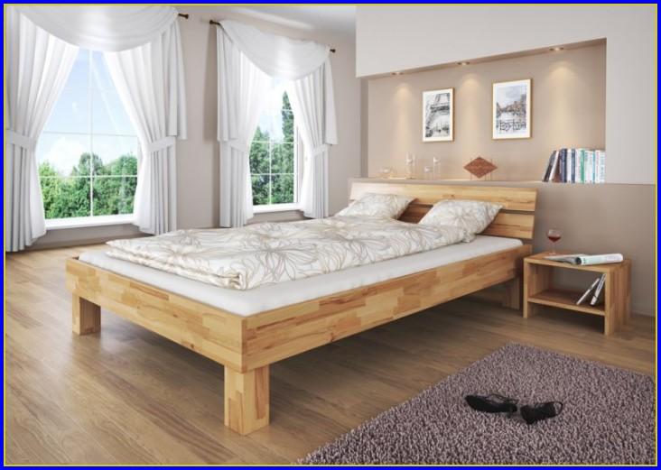 Bett Buche 140×200 Bettkasten