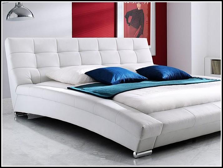Bett Holz Weiß Landhaus