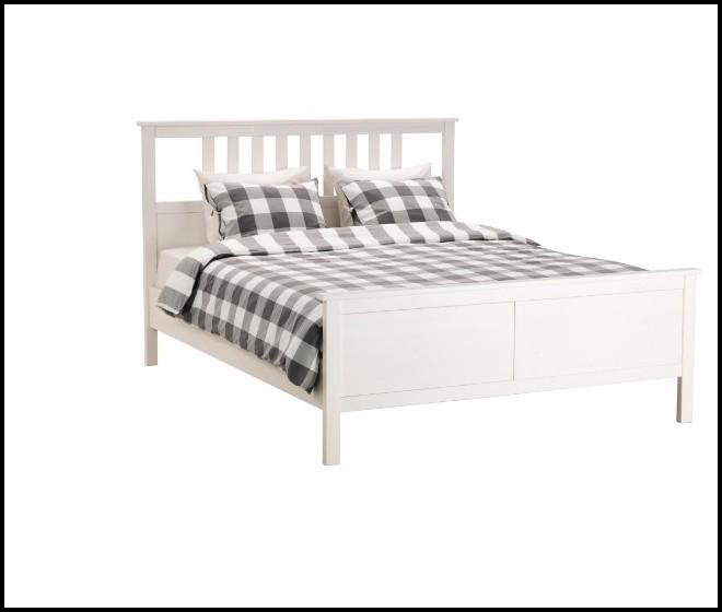 Bett Ikea Hemnes Weiß