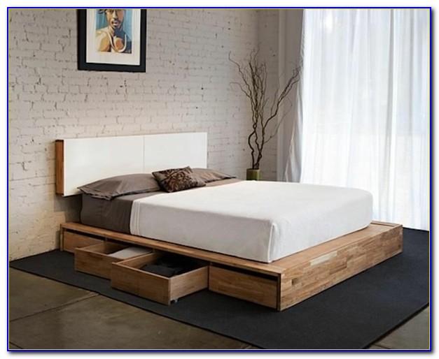Bett Kommoden Weiß