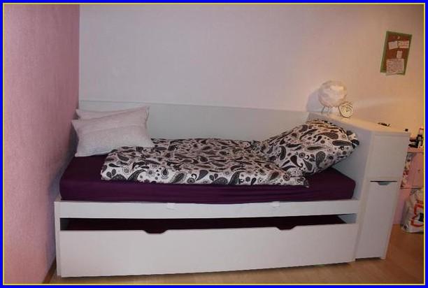 Bett Mit 2 Matratzen übereinander