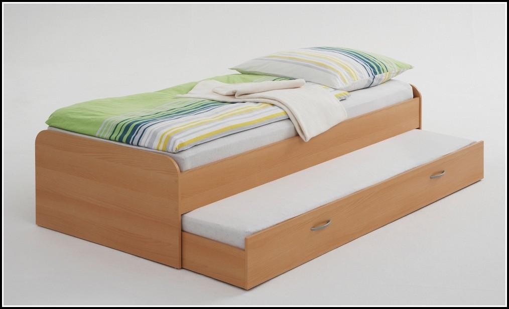 Bett Mit Ausziehbett Ikea