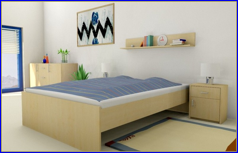 Bett Mit Lattenrost Matratze