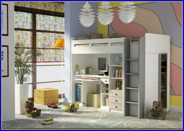 Bett Mit Schreibtisch Und Schrank Ikea