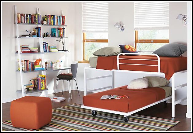 Bett Mit Unterbett Und Schubladen