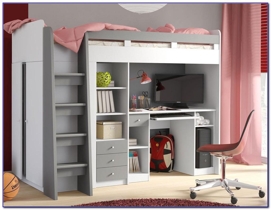Bett Schreibtisch Kombination Betti