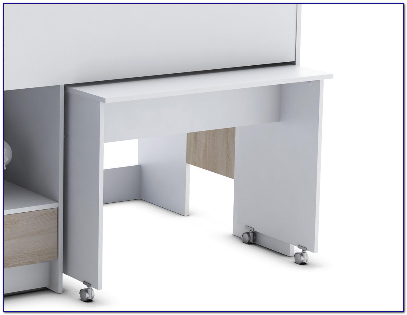 Bett Schreibtisch Schrank Kombination