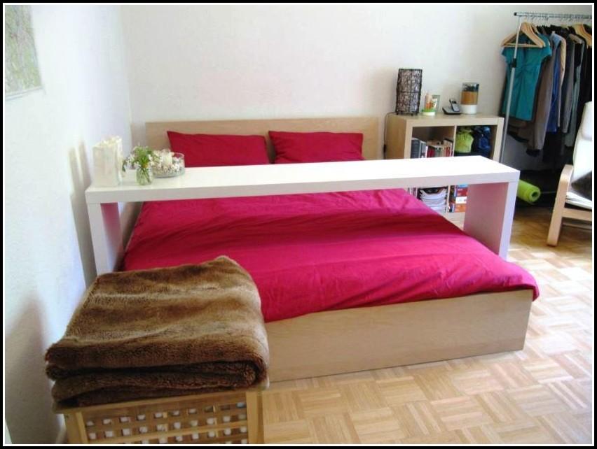 Bett Tisch Ikea Weiß
