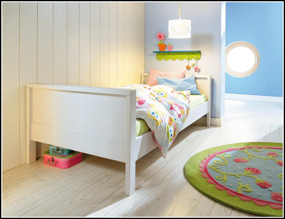 Bett Weiß 100×200 Cm