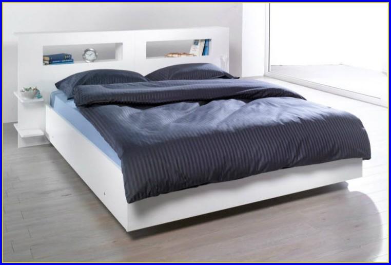 Bett Weiß 140×200 Mit Lattenrost Und Matratze