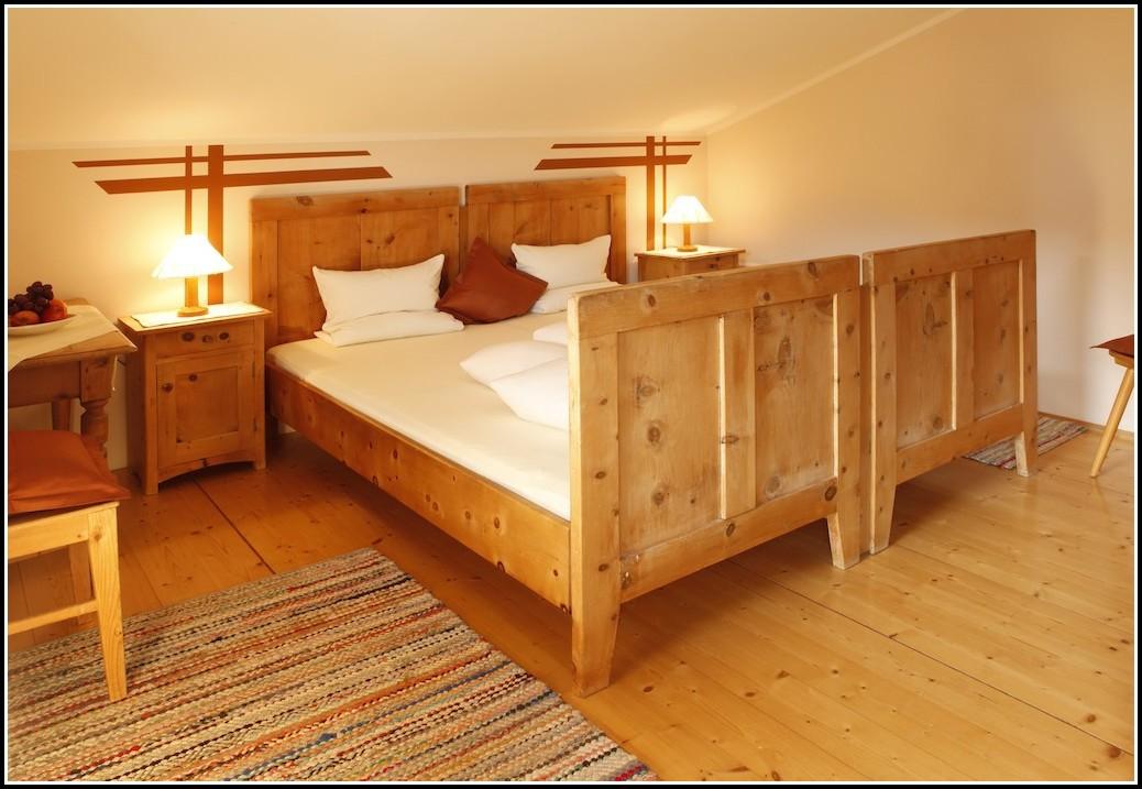 Betten Aus Holzstämmen
