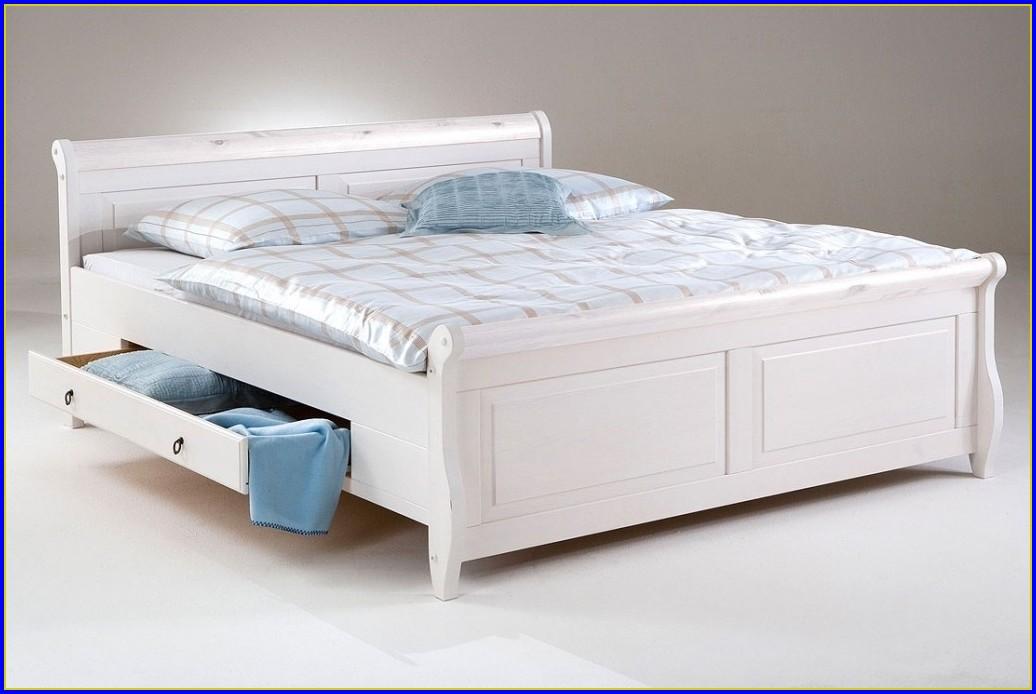 Betten Holz Weiss