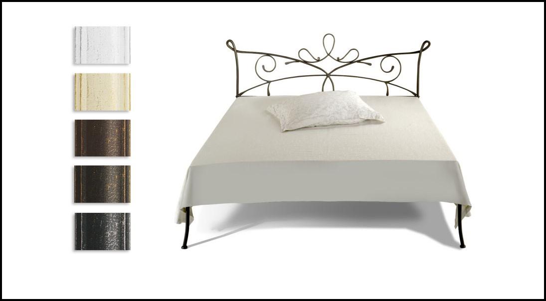 Betten Metall Weiß