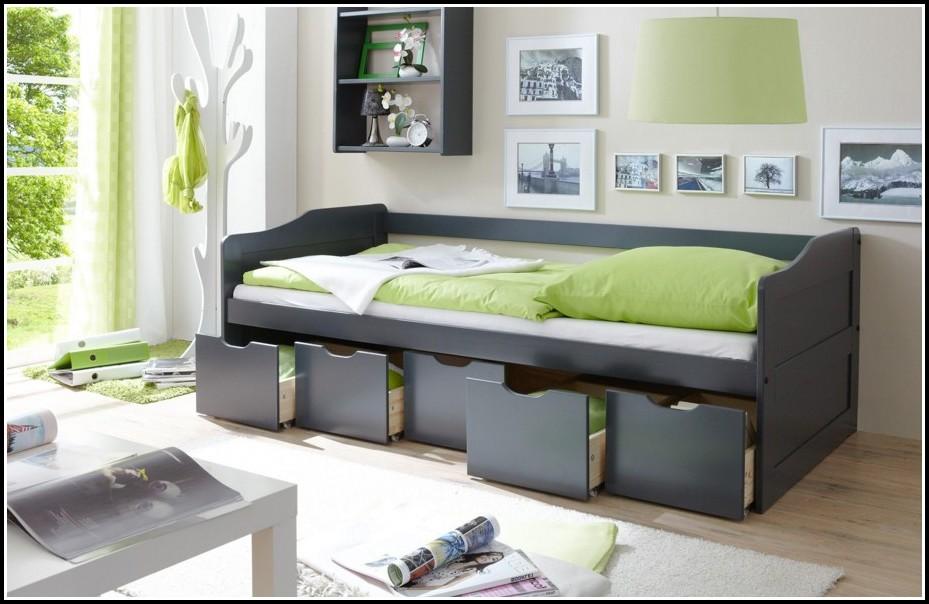 Betten Mit Schubladen Weiß