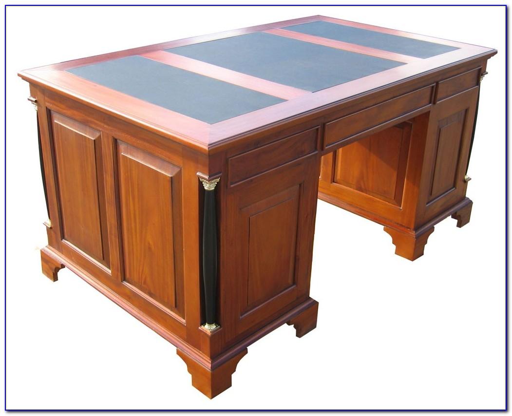 Biedermeier Schreibtisch Mahagoni