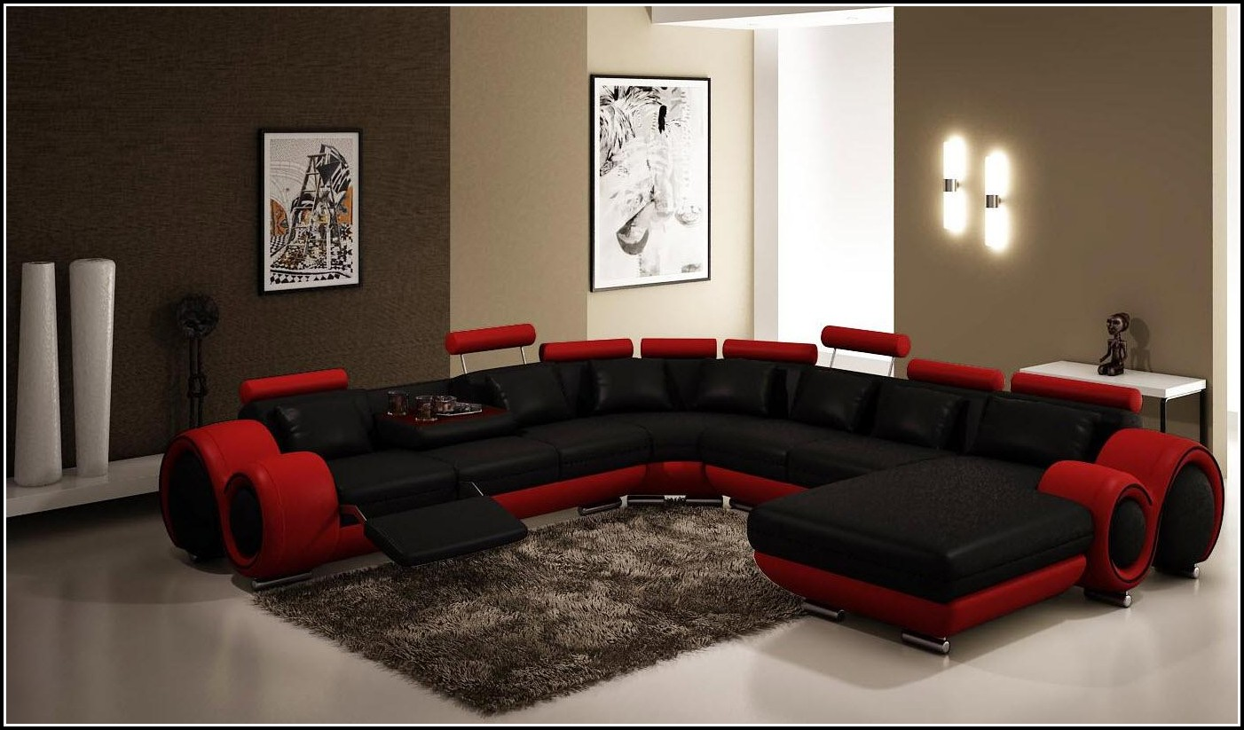 Big Sofa Echt Leder