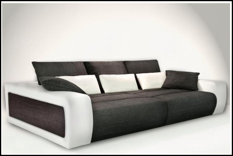 Big Sofa Echtes Leder