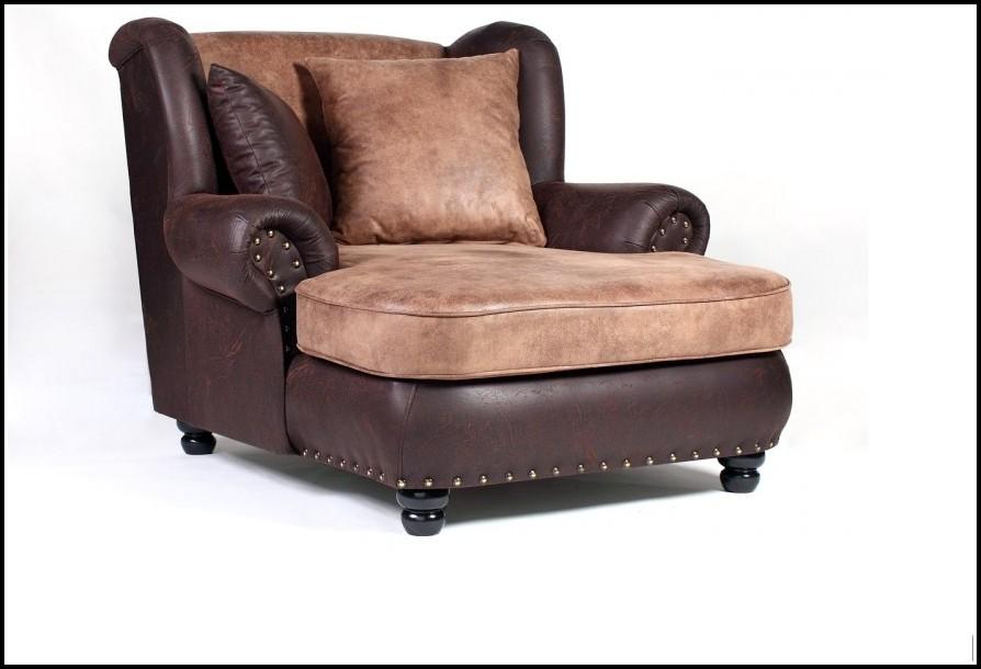 Big Sofa Kolonialstil Sessel