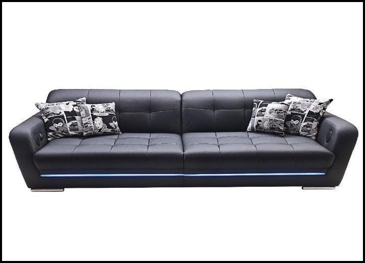 Big Sofa Leder Optik