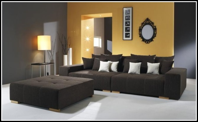Big Sofa Xxl Strukturstoff