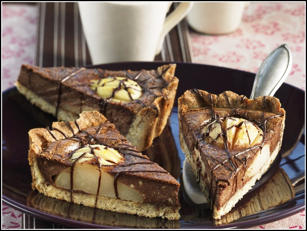Birnen Quark Kuchen Rezept