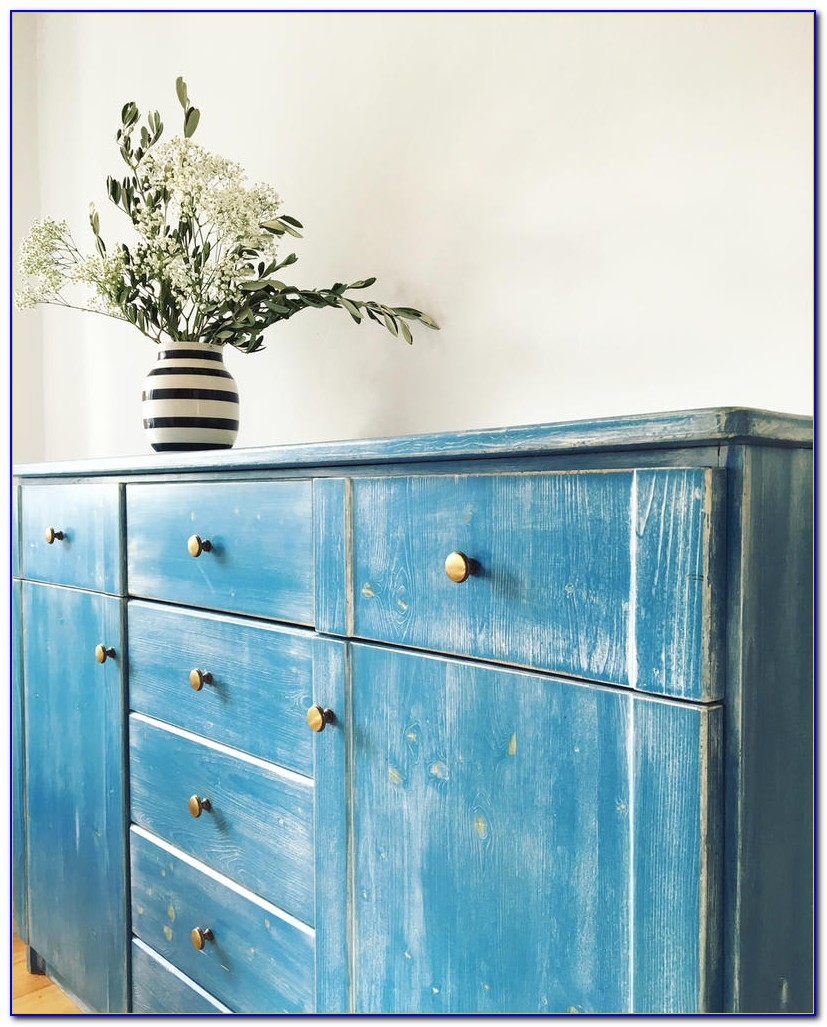 Blaue Kommode Ikea