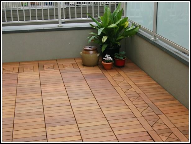 Bodenbeläge Balkon Holz