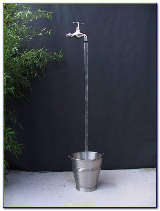 Brunnen Wasserhahn Garten