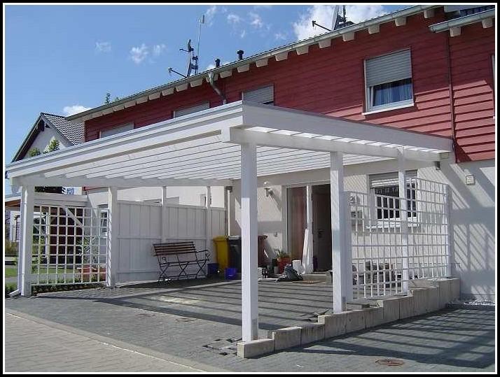 Carport Als Terrassenüberdachung