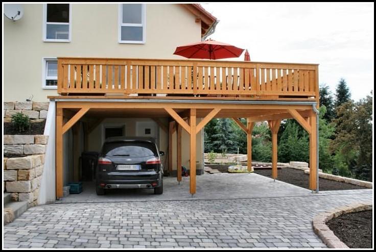 Carport Mit Balkon
