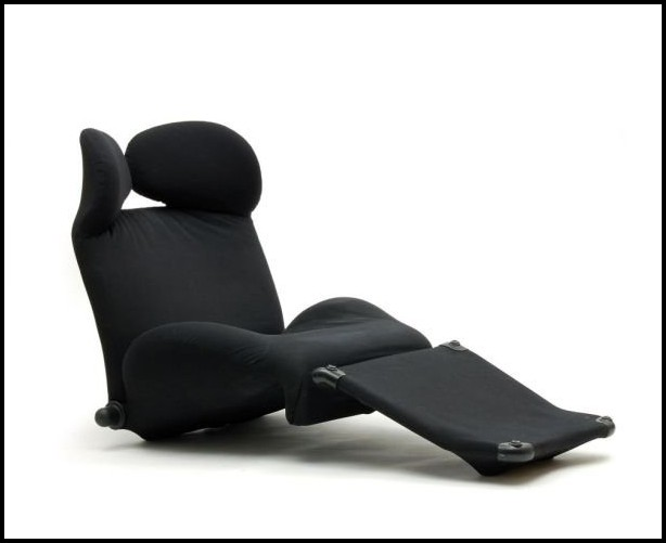 Cassina Wink Sessel Leder