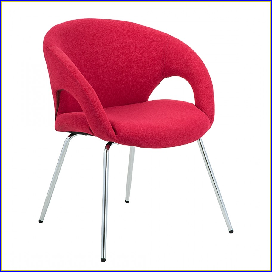 Chaise Salle A Manger Cuir Rouge