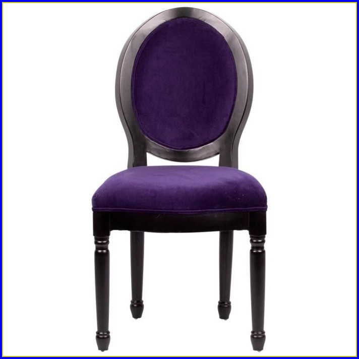 Chaise Velours Rose