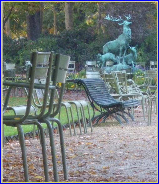 Chaises Jardin Luxembourg Fermob