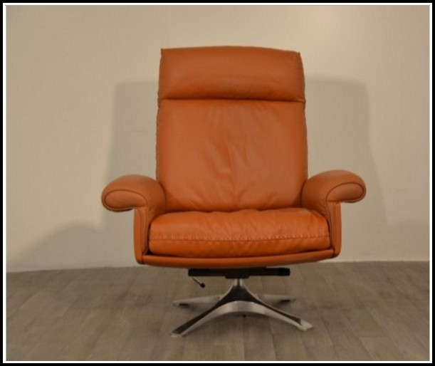 Chesterfield Sessel Leder Braun