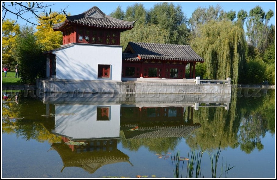 Chinesischer Garten Berlin Teehaus