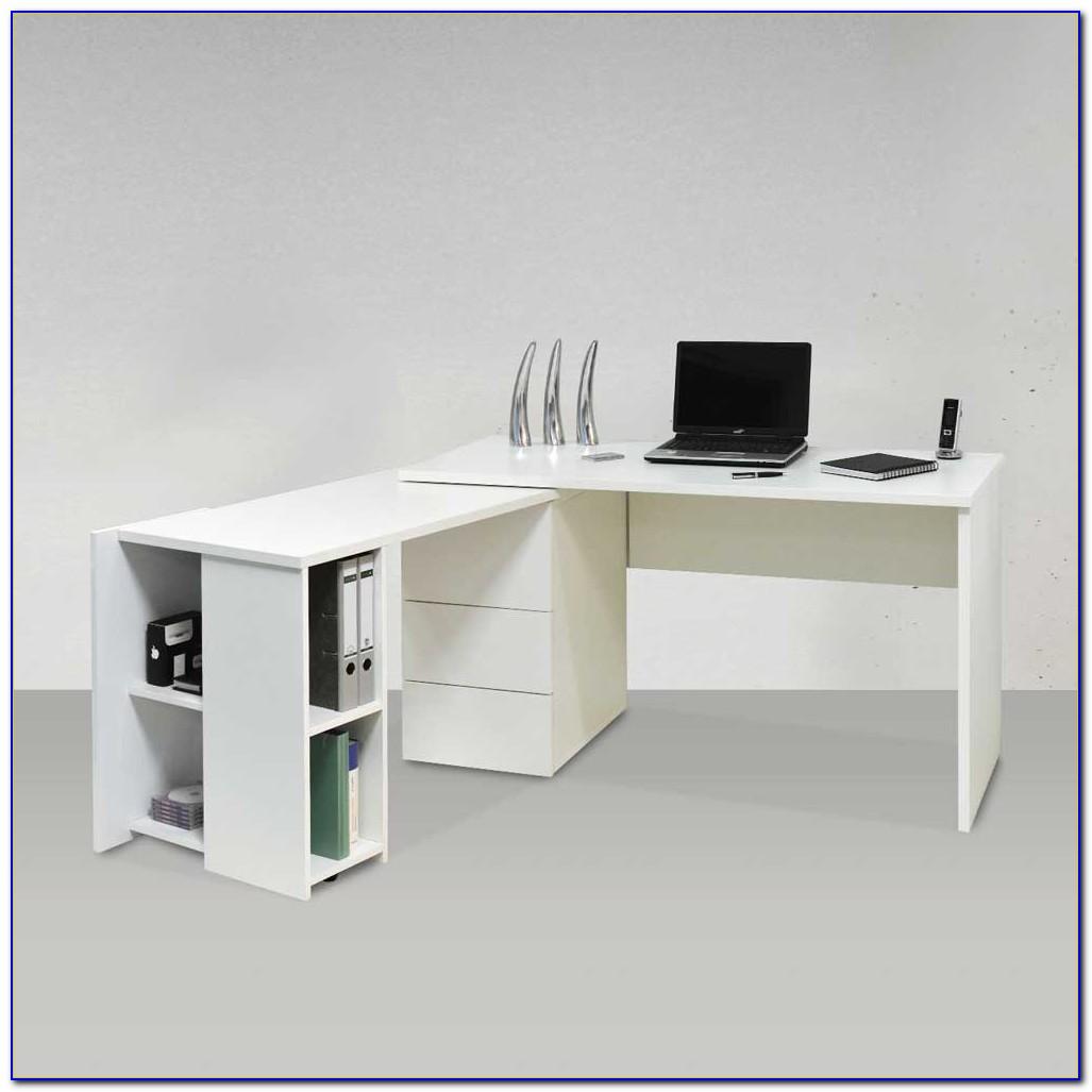 Computer Schreibtisch Weiß Hochglanz