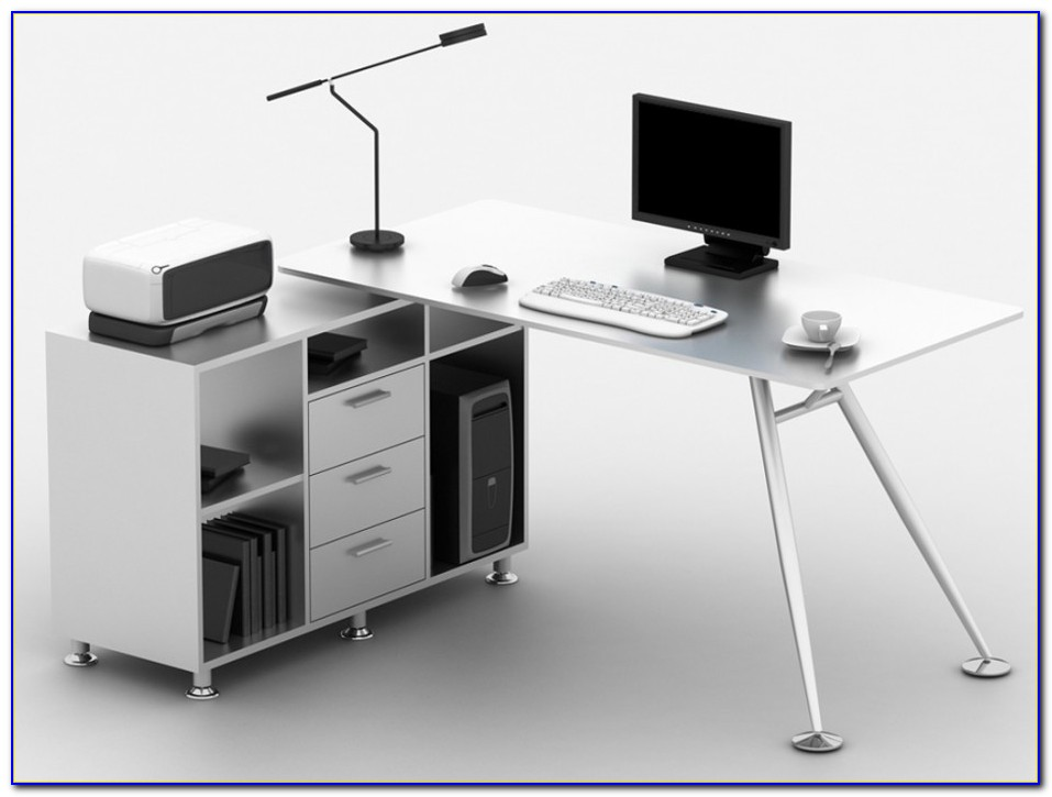 Computertisch Schreibtisch Buche