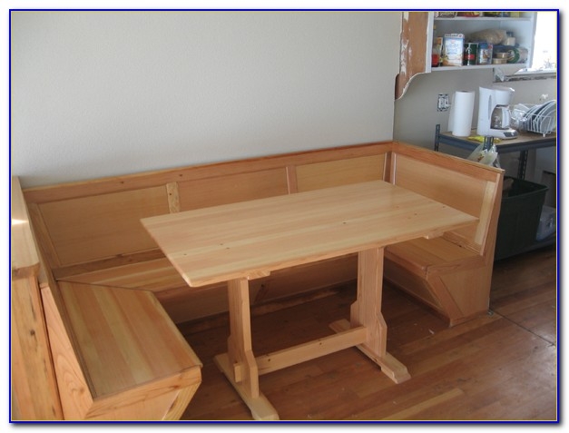Corner Nook Kitchen Table With Bench