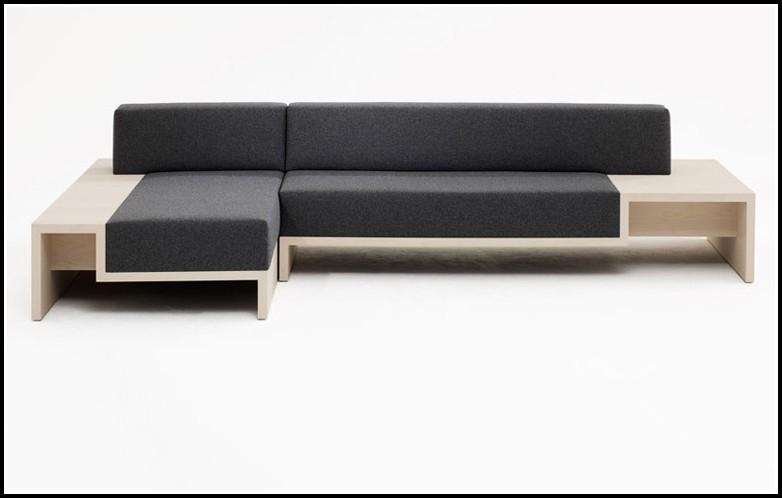 Couch Mit Integriertem Sessel
