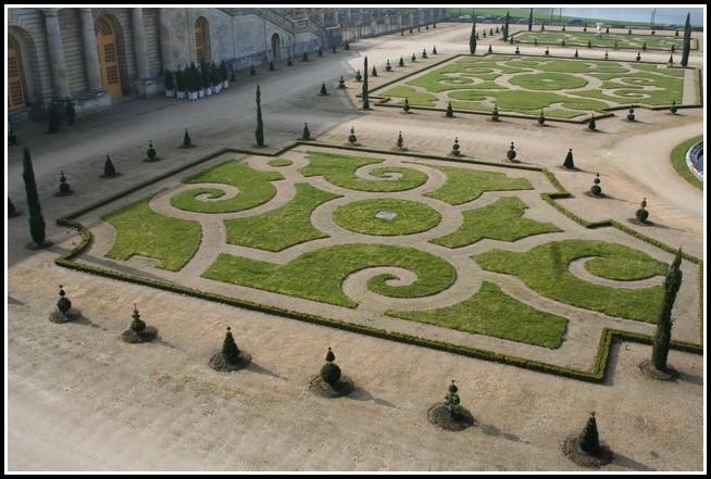 Das Schloss Versailles Garten